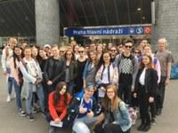 Mezinárodní výměnný pobyt švýcarských studentů ze Sekundarschule Andelfingen