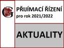 Přijímací řízení 2021 - 2. kolo