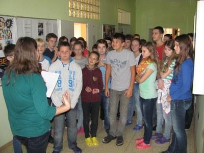 Světový den Ekoškol nižší třídy 2014 11 07f