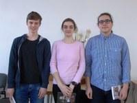 Dějepisná soutěž žáků gymnázií - krajské kolo - 1. místo!!!